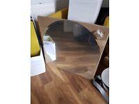 "IKEA round mirror 30"" brand new"