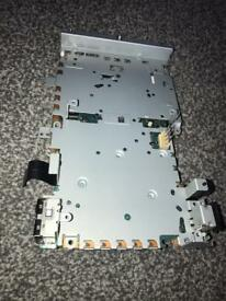 Play station 2 main motherboard with metal casing