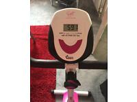 Davina McColls exercise bike
