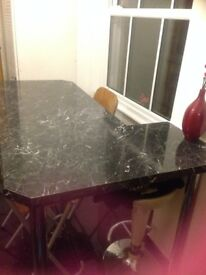 Dining/breakfast table marble