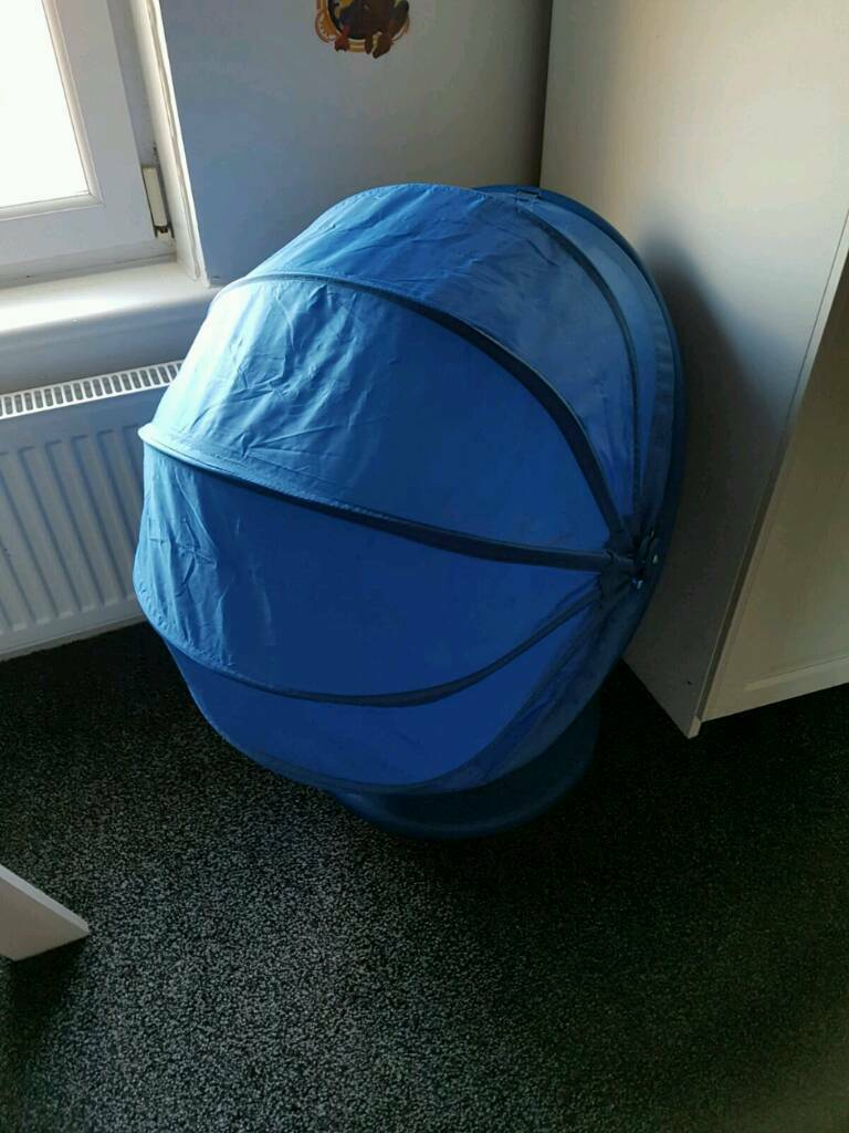 blue ikea kids cocoon swivel chair in bishopbriggs glasgow gumtree. Black Bedroom Furniture Sets. Home Design Ideas