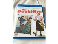 Mrs Doubtfire Blu Ray (used)