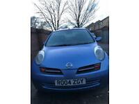5door 04 plate Automatic Nissan Micra with long MOT and recent full service- excellent value