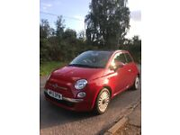 Fiat 500 Lounge 1.2- VERY good condition!