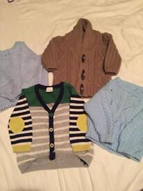 Boys 3-6 cardigans/jumpers