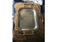 Silver and Gold Trays - 3 Sizes