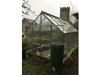 Aluminium Greenhouse 6x8