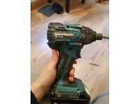 Makita 18v impact brushless + batter 4Ah