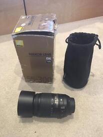 Nikon VR 55-300mm lens