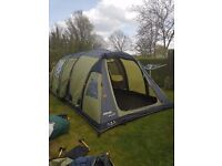 vango infinity 800 air tent and side air extention
