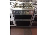 60CM STAINLESS STEEL HOTPOINT GAS COOKER