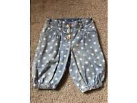 Next Cropped Trousers - 12-18 Months