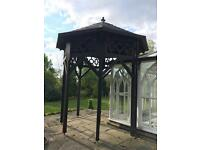 Two Hardwood Pagoda's in Excellent Condition