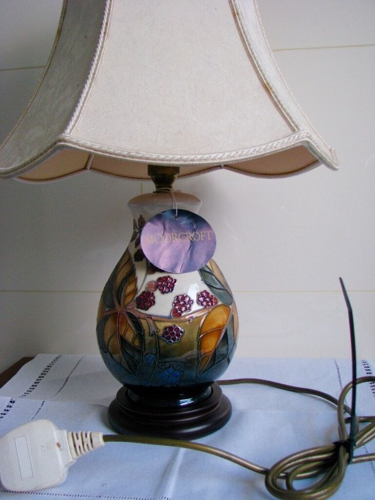 Moorcroft table lamp in southside glasgow gumtree moorcroft table lamp aloadofball Images