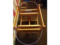 Moses basket with stand swing from mother care