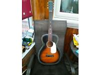 1961 silvertone acoustic guitar