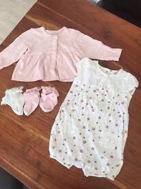 NEXT 6-9m Outfit with socks