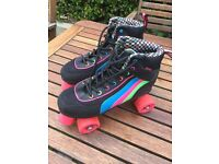 Ladies Retro roller boots size 7