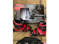 No Fear Inline Skates & Pads Size 1-3