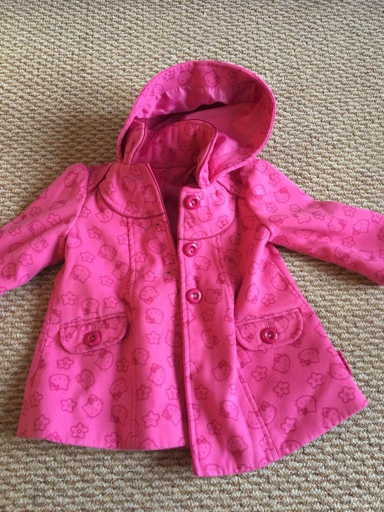 62e84d31f56 Baby Girls 18-24 Months Hello Kitty Coat   in Loughborough ...