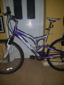 Malibu Suspension bike large mountain bike