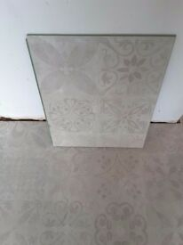 Victorian Tile Effect Laminate Flooring Plus Insulation Boards