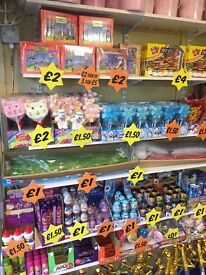 Large selection of Rock and Sweets in boxes