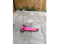 Micro mini scooter almost new