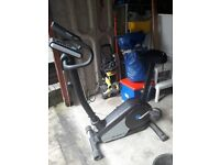Roger black gold magnetic excercise bike