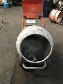 Belle petrol Cement mixer minimix 150 ad stand
