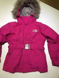 The North Face Girls Greenland Jacket Age 7-8