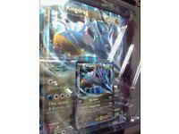 Two KINGDRA EX Full Art Pokemon Cards for sale