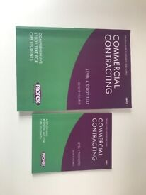 CIPS - Commercial Contracting Study Pack (L4M3) 2018/2019 - Book+Pass Notes