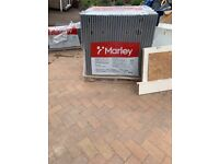 225 x Marley Mendip Smooth Roof Tiles BRAND NEW