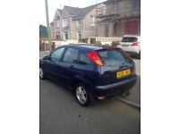 2005 Ford Focus 1.8 6 mth mot may swap