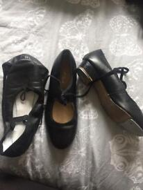 Black Tap and Ballet shoes size 3