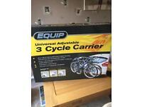 3 cycle bike carrier.