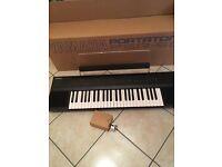 Yamaha keyboard in box - Portatone PSR-50