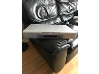 Philips DVD 723 DVD player complete with remote and scart lead