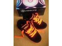 Black and Orange Heelys - New unused