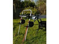 Halfords Metal Clamp Rear Mount Bike Rack (3 bikes)