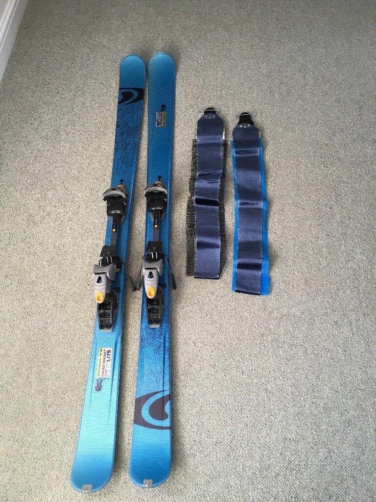 Salomon Pocket Rocket Skis & Daimar Touring Bindings
