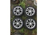 "17"" Genuine Mercedes Alloy wheels. 17 inch"