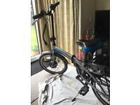 Halfords Electric Bike.