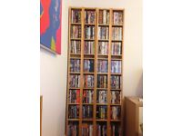 DVD stands and DVDs