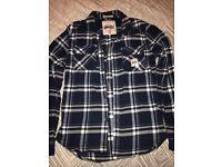 Men's Superdry Blue Lumberjack Shirt