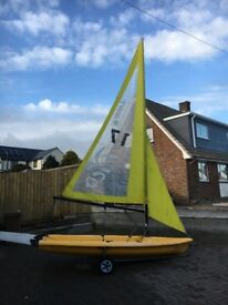 Laser Pico sailing dinghy