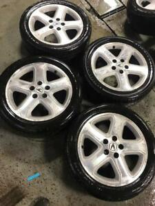 2000-2004 Acura TL Type S | Rims/Tires all season 215-50-17 | 5x114,3 | Clean Condition