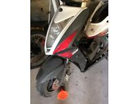 Kymco Agility RS 125 none starter parts only. 2011 model.