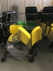 STACKABLE CHAIRS £10 EACH